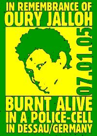 Remember Oury Jalloh!